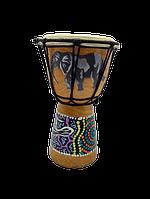 Барабан там-там бамбуковый размер 20*12 см