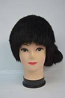 Женская меховая молодежная шапка кубанка