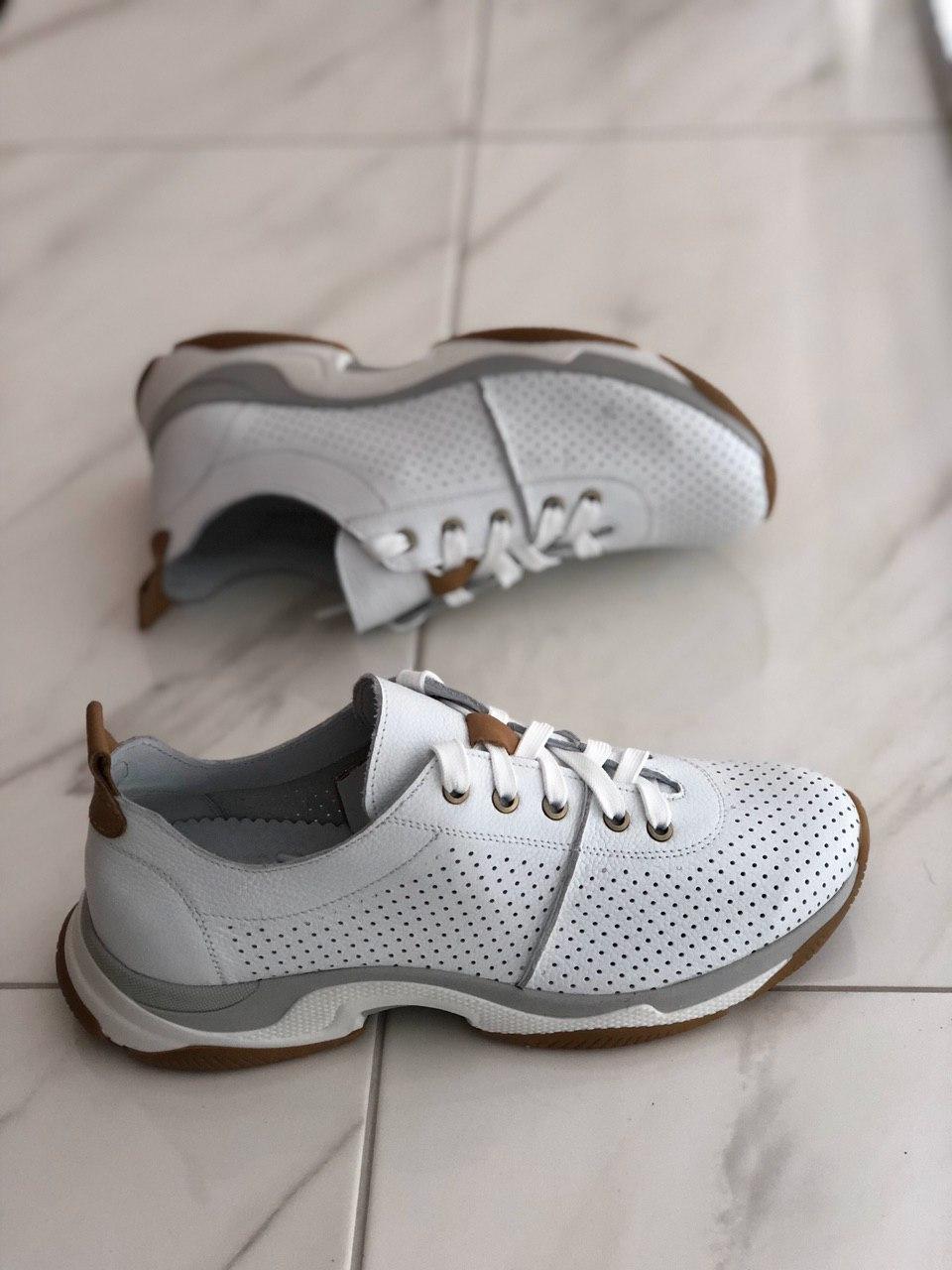 Кожаные женские кроссовки MAX MAYAR 57 BB размеры 37,38,39,40