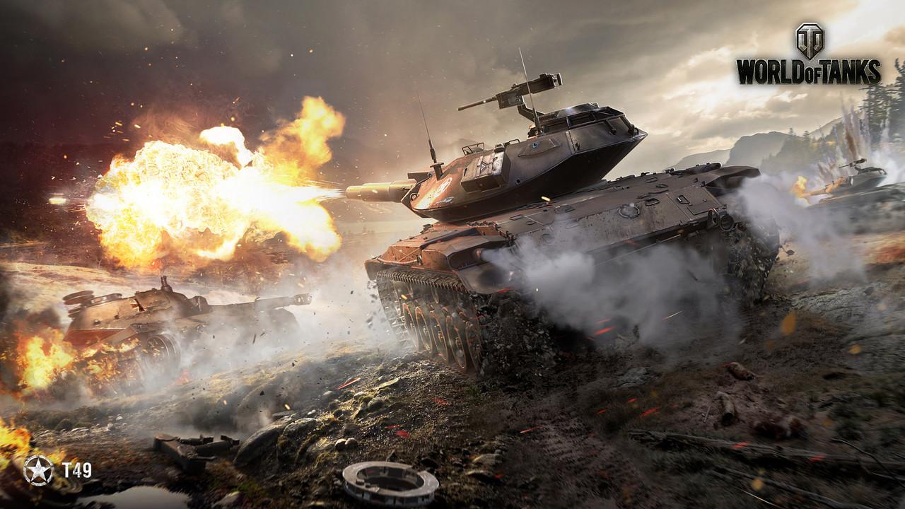 Коврик для мыши World of Tanks T49