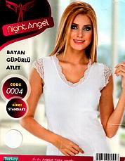 Night Angel женские  майки отличного качества (Черный,белый цвет) МНОГО МОДЕЛЕЙ, фото 2