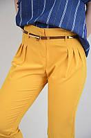 Летние женские брюки с высокой посадкой не облегающие Perzoni Турция 7422, фото 1