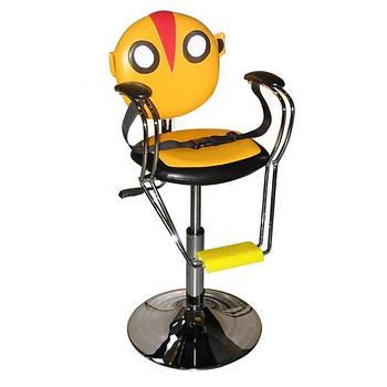 Крісло дитяче CHICK жовто-помаранчеве на пневматиці