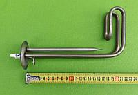 Тэн загнутый 1500W (нержавейка) / на фланце Ø63мм / для бойлеров Thermex / c трубкой под термостаты   (Украина, фото 1
