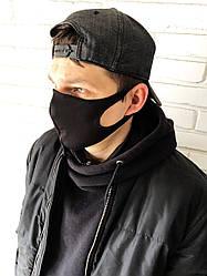 Многоразовая маска Питта двухслойная из дайвинга (упаковка 10 шт.)
