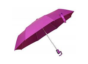 Зонт складной автоматический Розовый Фламинго