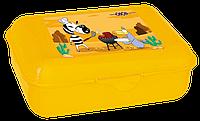 Контейнер для їжі ZB.3050-08 138*104*54мм жовтий (1/96)