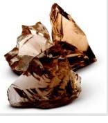 Стеклянные камни коричневые AMBRA 80-120, фото 1