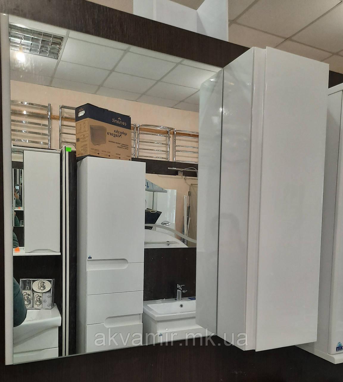 Зеркало в ванную Профиль Николь 60 см без подсветки- универсальное (правое/левое)