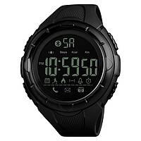 Skmei 1326 черные мужские  спортивные смарт часы, фото 1