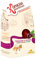 Конфеты Корисна Кондитерська Чернослив с орехами со стевией 150 г (4820035540496)