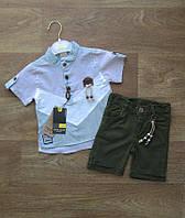 Летний костюм для мальчика Турция,турецкий детский трикотаж,детская одежда из Турции,интернет магазин,коттон