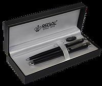 Комплект ручок (П+Р) R68008.L.BF в подарунковому футлярі L, чорний REGAL