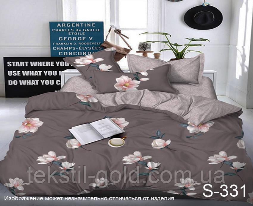 Комплект постельного белья с компаньоном S331 TM TAG Сатин Полуторный