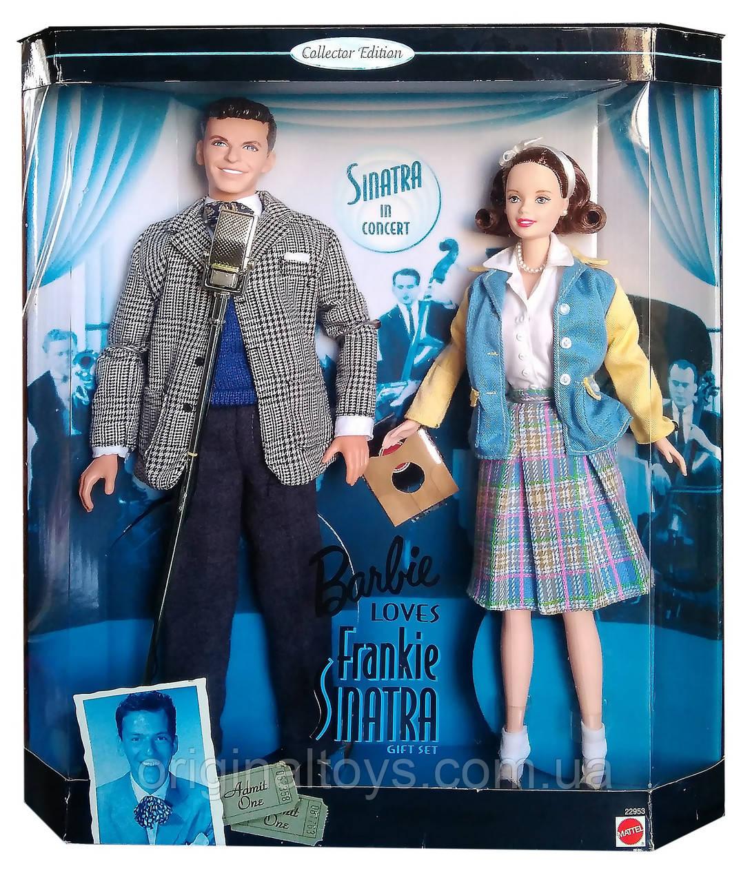 Колекційні ляльки Барбі любить Френка Сінатру Barbie Loves Frankie Sinatra 1999 Mattel