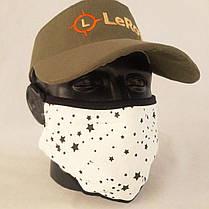Багаторазова маска пітта LeRoy White Star, фото 3