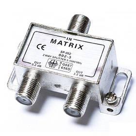 Splitter 2-way + 3шт F