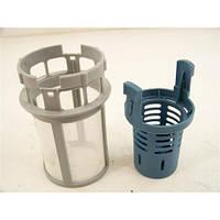 Фильтр сетка в сборе для посудомоечной машины Indesit ariston C00256571+572 Оригинал