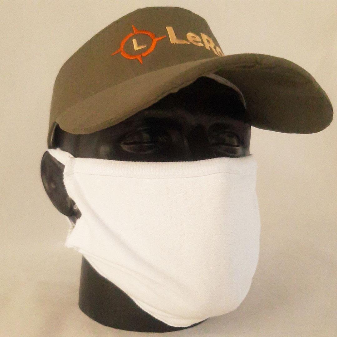 Многоразовая маска питта LeRoy White