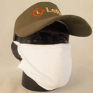 Многоразовая маска питта LeRoy White, фото 2