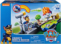 Щенячий патруль машинка -спасательная станция трансформер с Чейзом Paw Patrol
