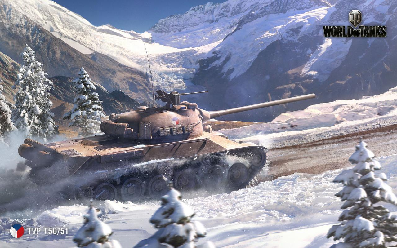 Коврик для мыши танки TVP T50/51