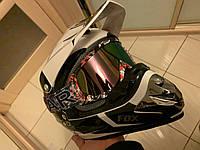 Разноцветная  Черная маска  хамелеон очки для кроссового мотоцикла