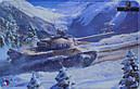 Коврик для мыши танки TVP T50/51, фото 2