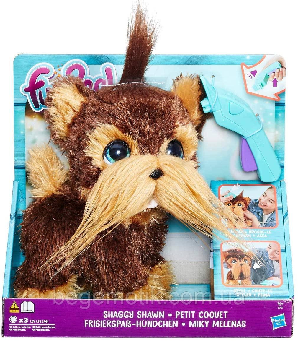 FurReal Friends Интерактивный лающий лохматый пес щенок Шон furReal Shaggy Shawn Hasbro