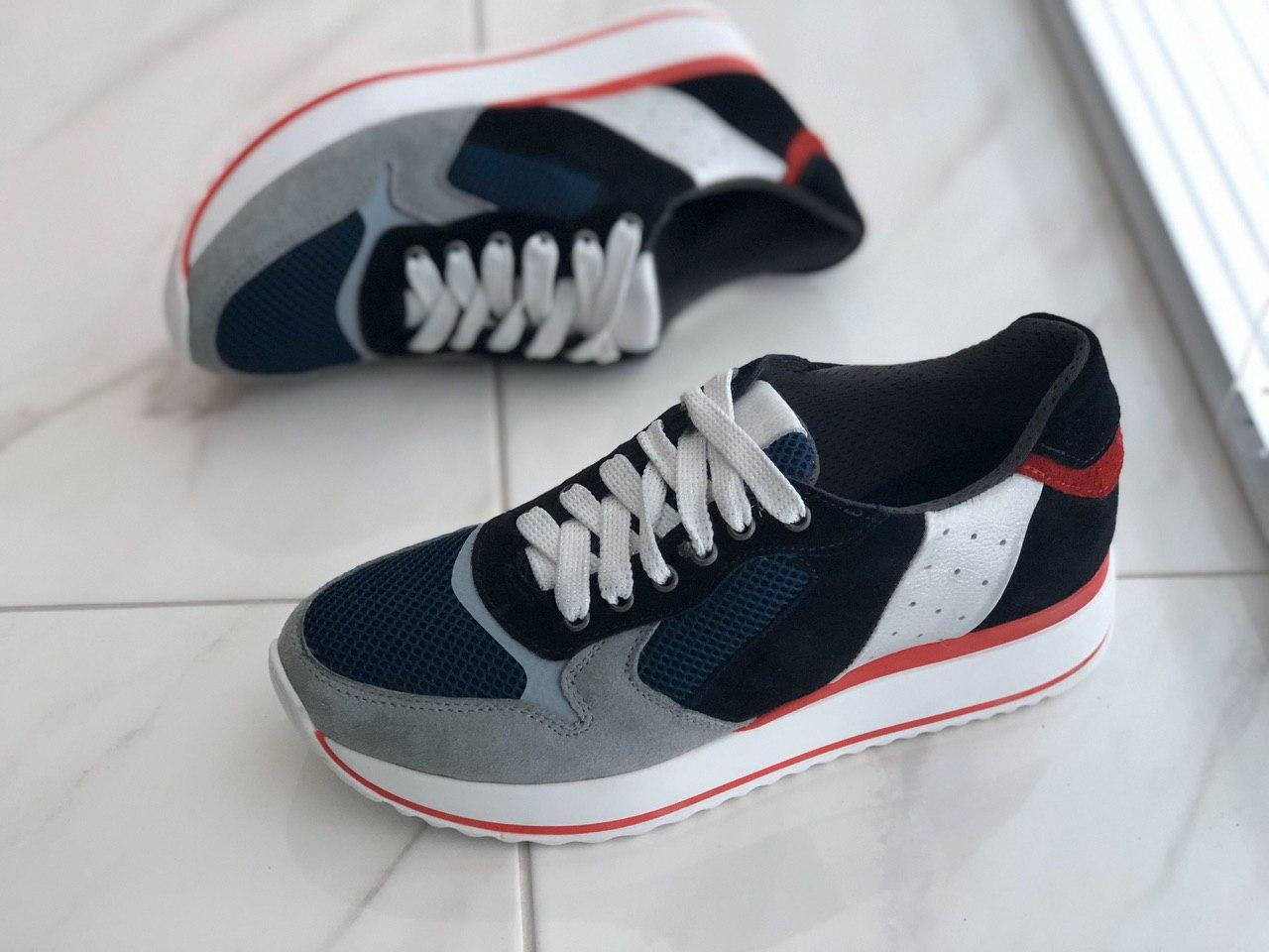 Кожаные женские кроссовки VITEX 30606 размеры 38, 39