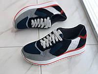 Кожаные женские кроссовки VITEX 30606 размеры 38, 39, фото 1