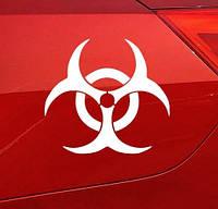 Наклейка Umbrella - биологическая опасность - белая, фото 1