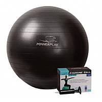 Мяч для фитнеса PowerPlay 65см + насос в комплекте