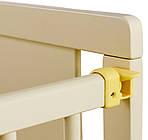 Кровать Babyroom Медвежонок M-02 (маятник, откидной бок) бук слоновая кость, фото 4