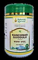 Канчнар Гуггул, Kanchanara 50 таб, 25 гр, - лечение лимфатической системы, щитовидной железы, зоб, фото 1