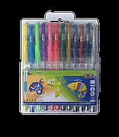 Набір з гелевих ручок 12 кольорів ZB.2205-99 NEON+METALLIC (1/40/160)