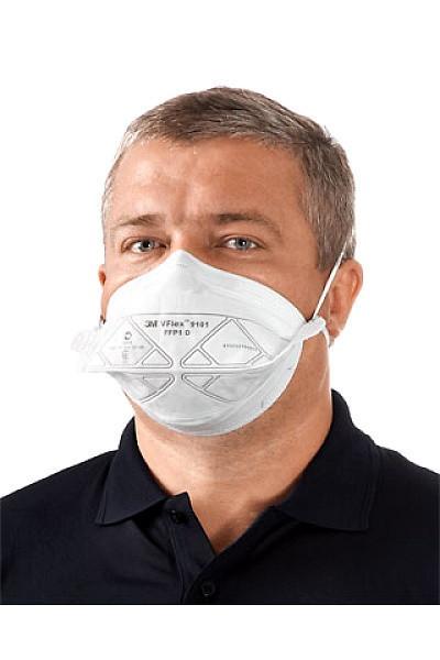 Медицинские маски 3M 9101 (10 МАСОК)