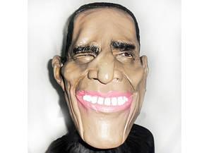 Карнавальная маска латексная Обама