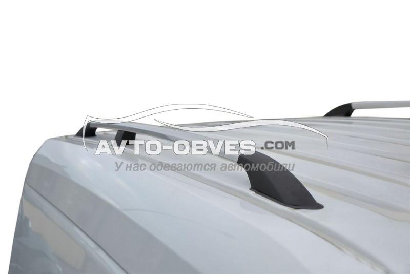 Рейлинги Volkswagen Caddy с металлическим креплением, кор (L1) / длин (L2) базы