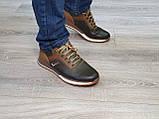Туфлі чоловічі Inshoes коричневі, фото 3