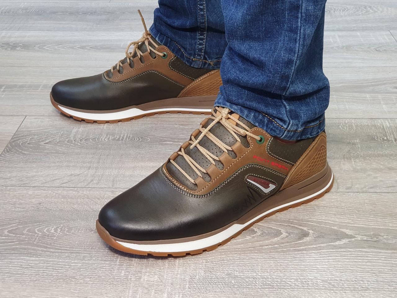 Туфлі чоловічі Inshoes коричневі