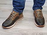 Туфлі чоловічі Inshoes коричневі, фото 4