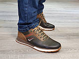 Туфлі чоловічі Inshoes коричневі, фото 5