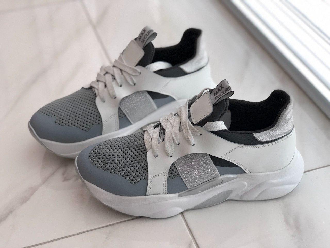Кожаные женские кроссовки ViTex 11002 размер 40