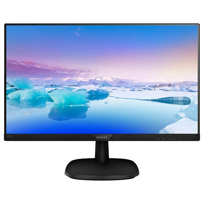 "Philips 23.8"" 243V7QJABF/01 IPS Black"