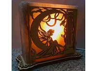 Соляная лампа Фея