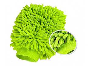 Микрофибровая варежка для уборки