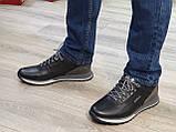 Туфлі чоловічі Inshoes чорні, фото 4