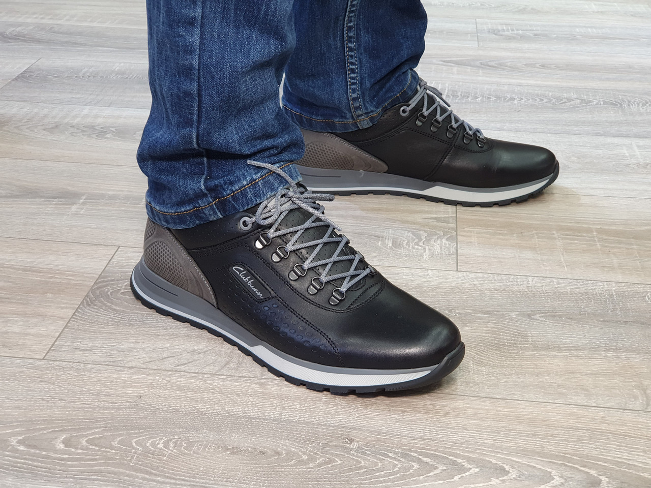 Туфлі чоловічі Inshoes чорні