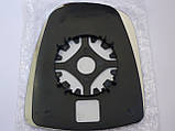 Стекло зеркала (вкладыш), правое механика на Renault Trafic с 2001... Transporterparts (Франция), 03.0058, фото 2